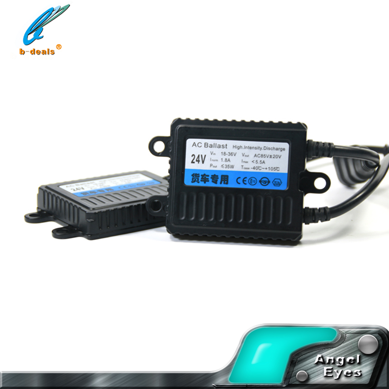 Best quality thin 35W 24v adjustable xenon hid ballast