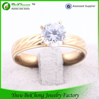 Accessoires bijou royal wedding design gold couple ring fashion