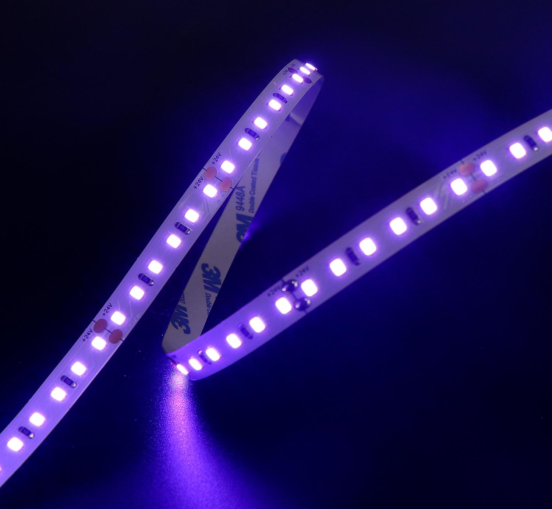 High brightness multi colors 2835 led strip light 24V 120leds