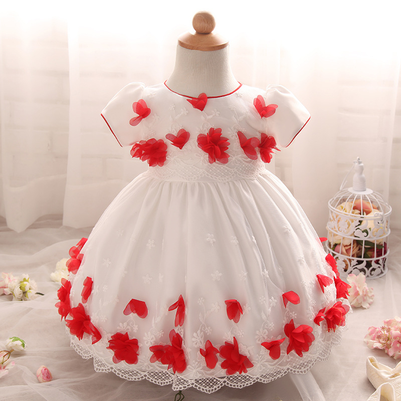 2017 Girl Party Dress Baby Girl Party Dress Children Frocks Designs