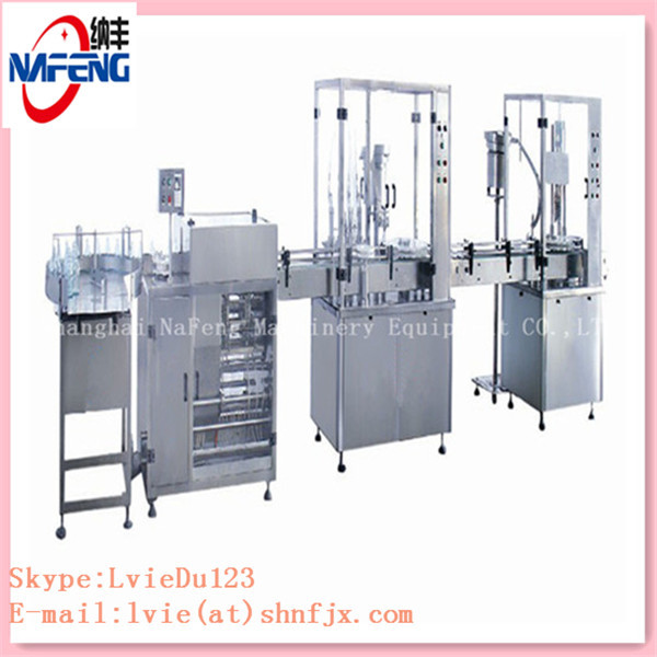 Automatic normal saline solution pharmaceutical machinery and normal saline filling Production Line