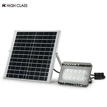 High quality Outdoor IP65 Waterproof 20w 30w 50w solar led flood lamp