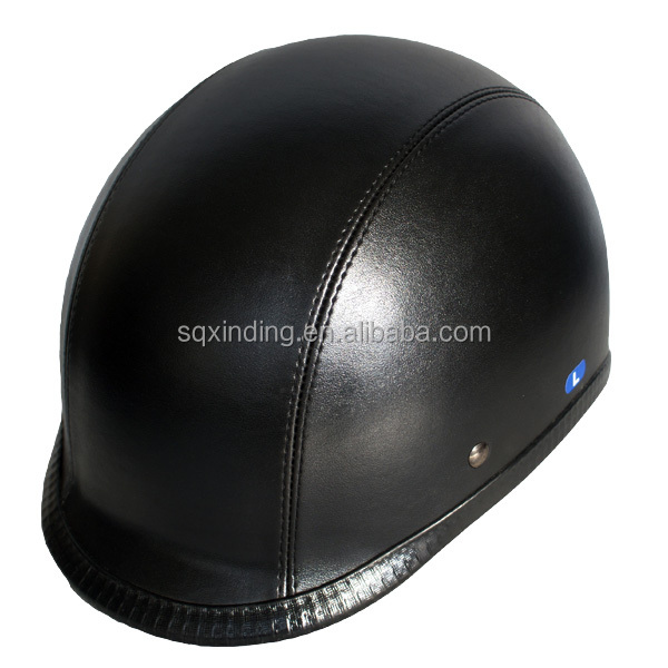 Leather Cover Motorcycle Helmet Sale to USA Canada Russian Japan Europe