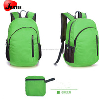 Diaper Fabric Foldable School Use Waterproof Backpack Bag For Kids
