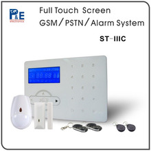 ST-IIIC Mini Portable PSTN Alarm With RFID tags