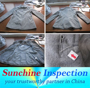 Garment & Textile Quality Control Inspection Services in China / Inspection and Testing Services