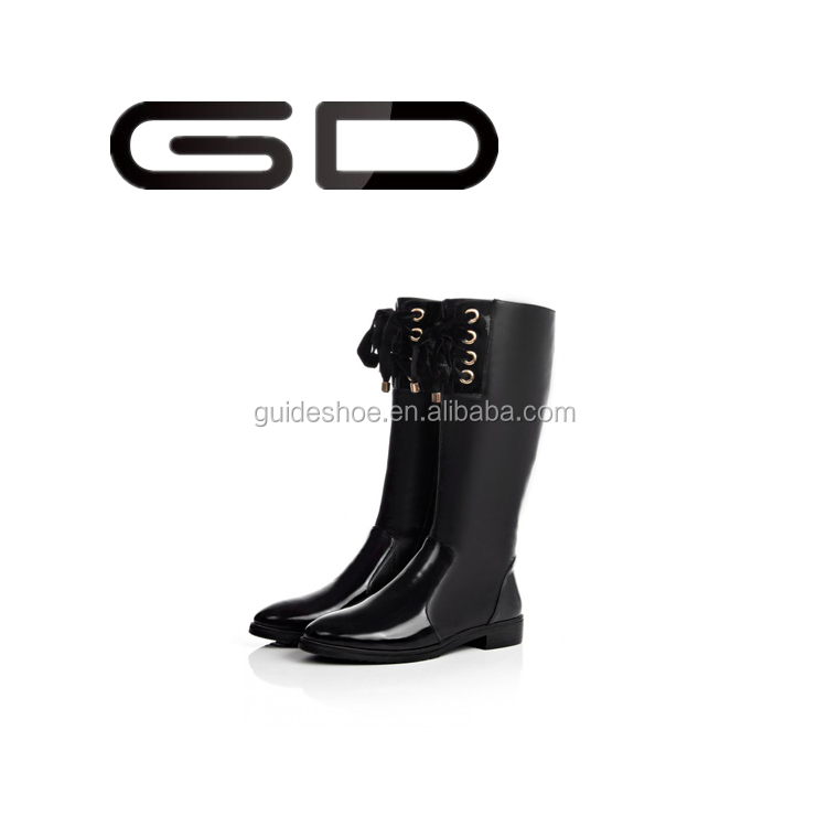 GD spring autumn new women snow knee boots fashion long boot sexy warm winter footwear Thigh High boots EU plus big size