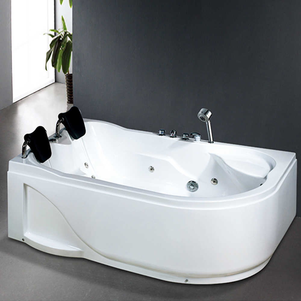 Hs B266 1 2m Width Double Whirlpool Apron Bathtubs With Hydrotherapy