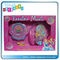 Promotional Girls toy B/O Music CD Player,Toy CD Player