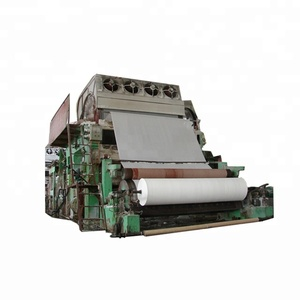 Hot selling tissue paper pulp making machine production liner