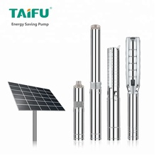 Promotional Taifu brand 110v 220v 2.2 kw dc vertical irrigation submersible solar powered water pump