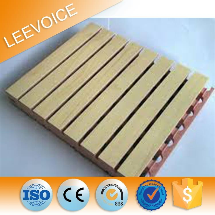 Fire Proof Acoustic Grooved MDF Board