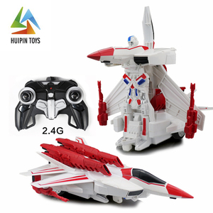 MZ 2389P radio control aircraft robot deformation toys with dynamic sound