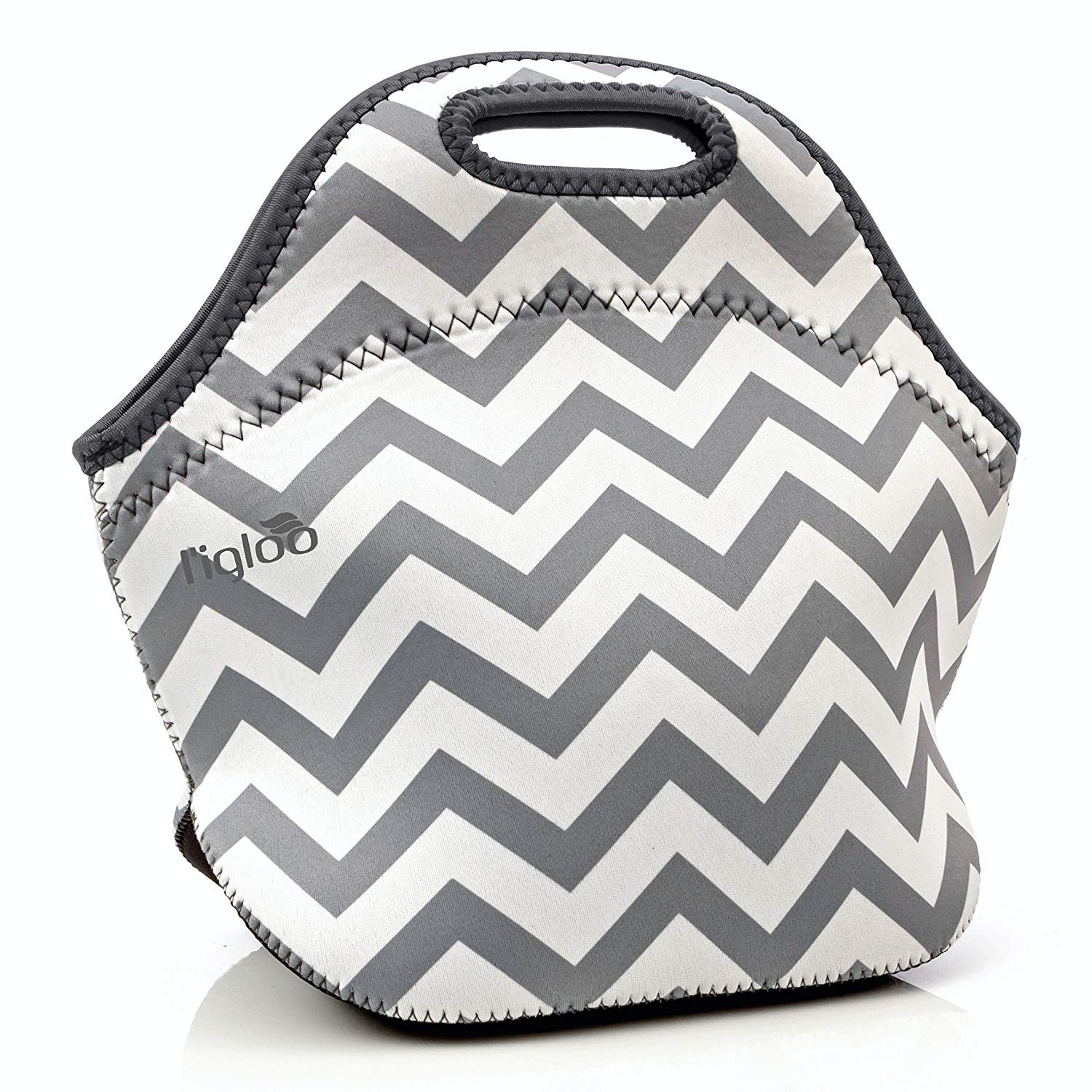 Get Quotations L Igloo Deluxe Neoprene Insulated Lunch Bag Extra Thick Box With Heavy Duty