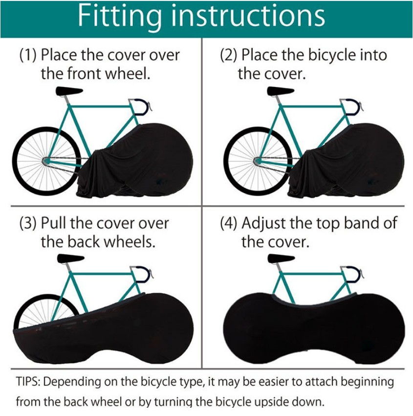 Promotional Cheap Cycle Accessories Bicycle Tire Covers Rain Wheel Cover