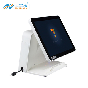 15 Inch Screen Touch Monitor Retail and restaurant Pos System with Cash Register All In One Windows 7/8/10 cash registers