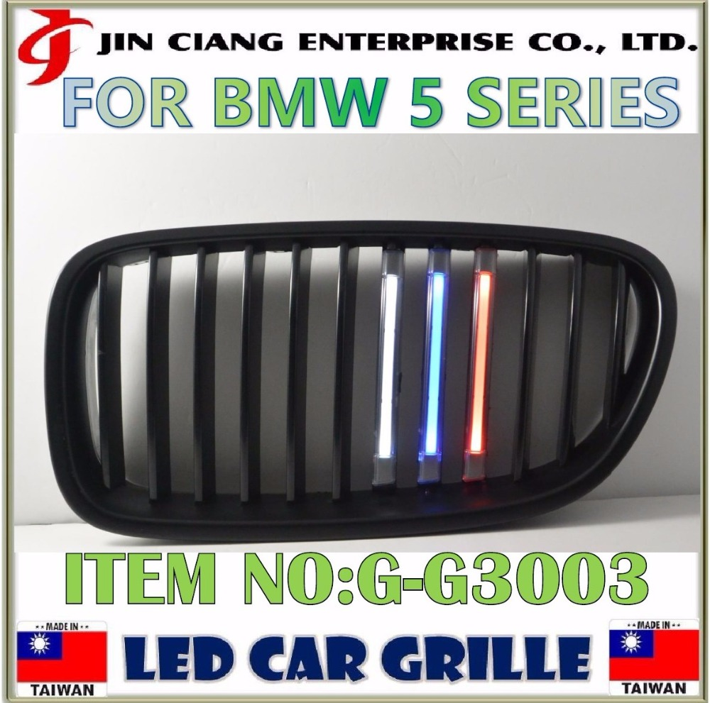 Car styling FRONT GRILLE MOULD LED GRILLE LIGHT For BMWW 5Series F10