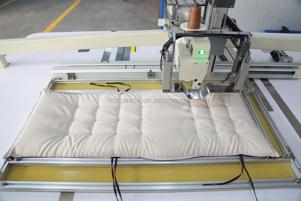 Richpeace Automatic Cushion, pillow tufting Machine