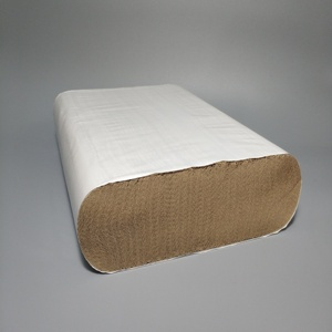 Kraft Paper Towel 4000sheet Recycle brown multifold paper hand towel towel factory selling directly