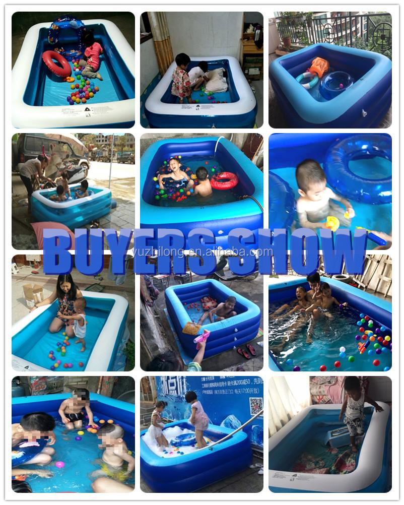מותאם אישית מתנפח בריכת שחייה לילדים, מבוגרים שחייה בריכת צעצועי למכירה בקיץ