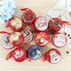 Hot Sale Christmas Decoration Coin Tin Box