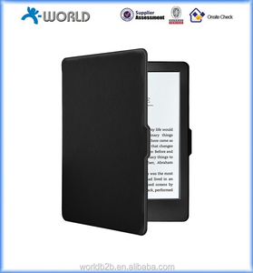 Lightest and Thinnest Protective Leather Case Cover for Amazon All-New Kindle