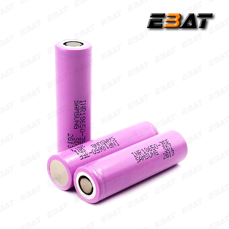 The Quality of Queen! Original Samsung 18650 35E 3500mah Lithium Cell, Li-ion Rechargeable Battery
