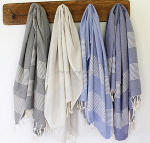 China suppliers 100% cotton turkish hammam bath towel with fouta