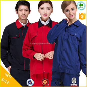 Cheap Fashion Factory Mens Work Clothes Blue Wear Rough Workwear