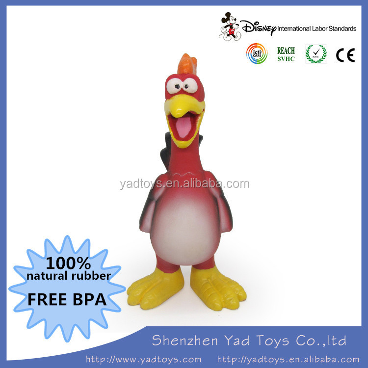 Funny Rubber Chicken Squeaky Toy Buy Plastic Chicken Toy