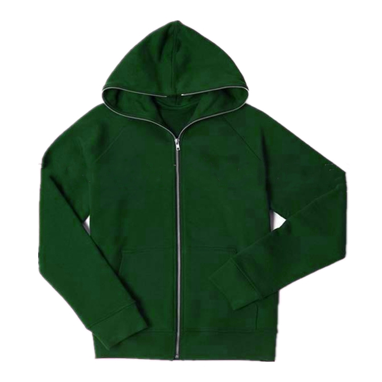 ShenZhen Wholesale Clothing Leere Zip Hoodies und Custom Printed Full Zip Hoodie