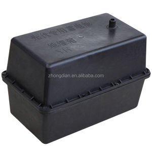 High quality outdoor abs plastic IP65 custom waterproof anti-corrosin 18650 battery box