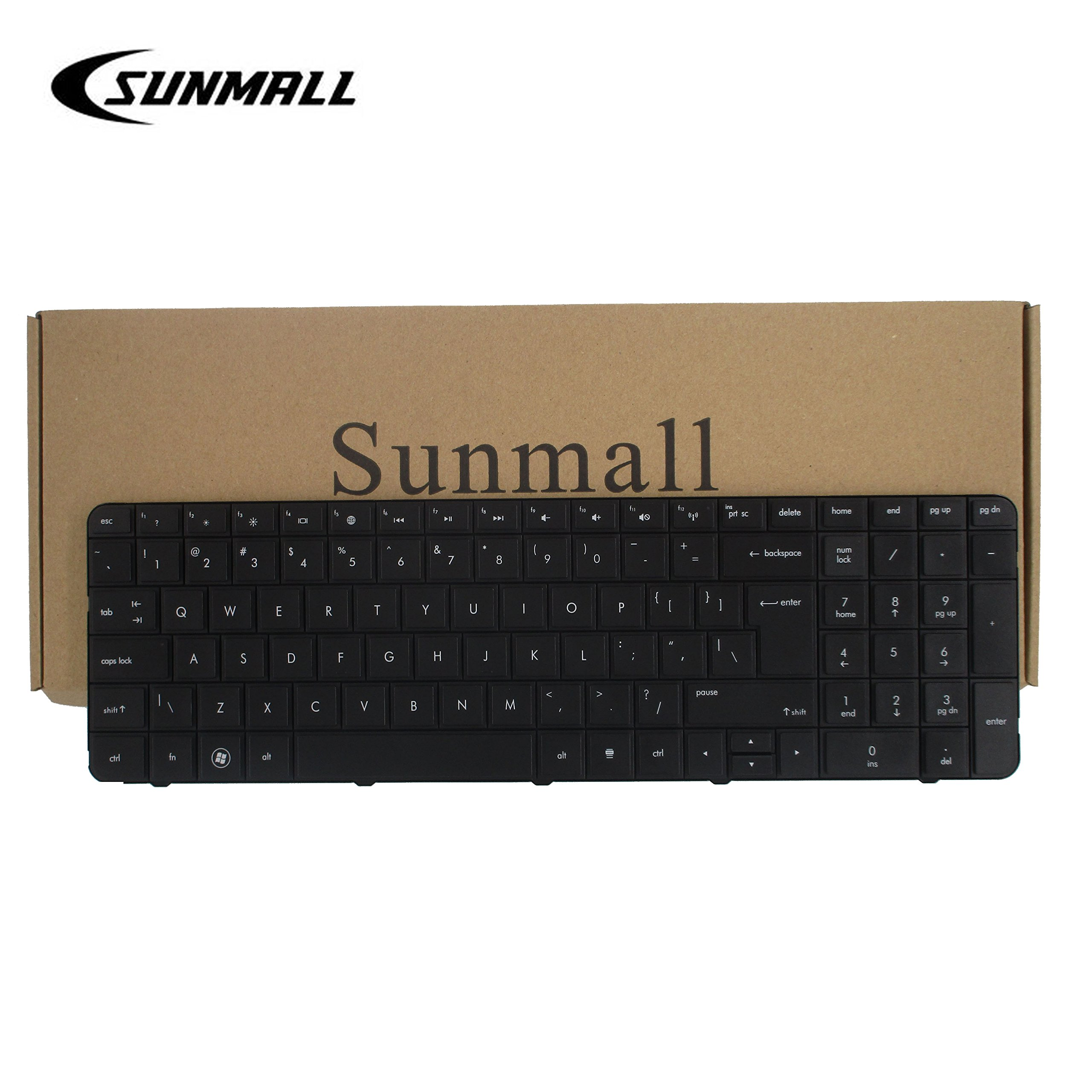 Get Quotations · SUNMALL Laptop Keyboard for HP Pavilion G7 G7T R18 g7-1000  G7T-1000 G7