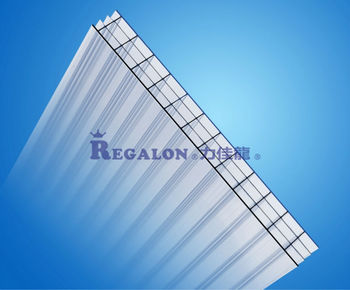 Extrusion Hollow Polycarbonate Roof Sheet PC Sunlight Panel