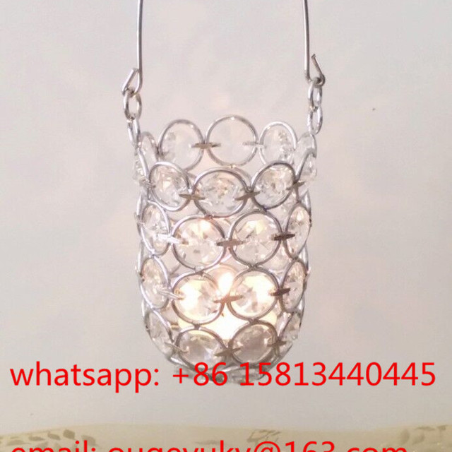 Hanging Votive Candle Holder , Mini Candle Holder Cheap For Wholesale