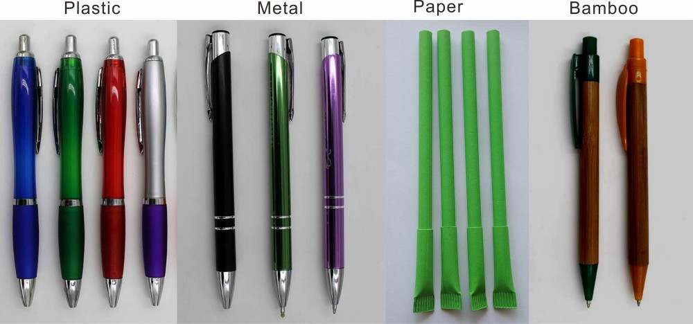 5 Colors Promotional Desk Pen Table Pen Hotel Counter Pen