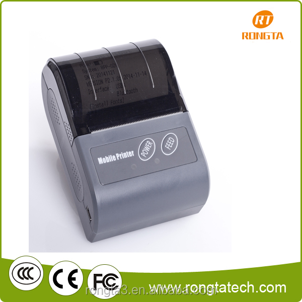 hot sale 58mm portable thermal printer support bluetooth connect with cell phone RPP02N