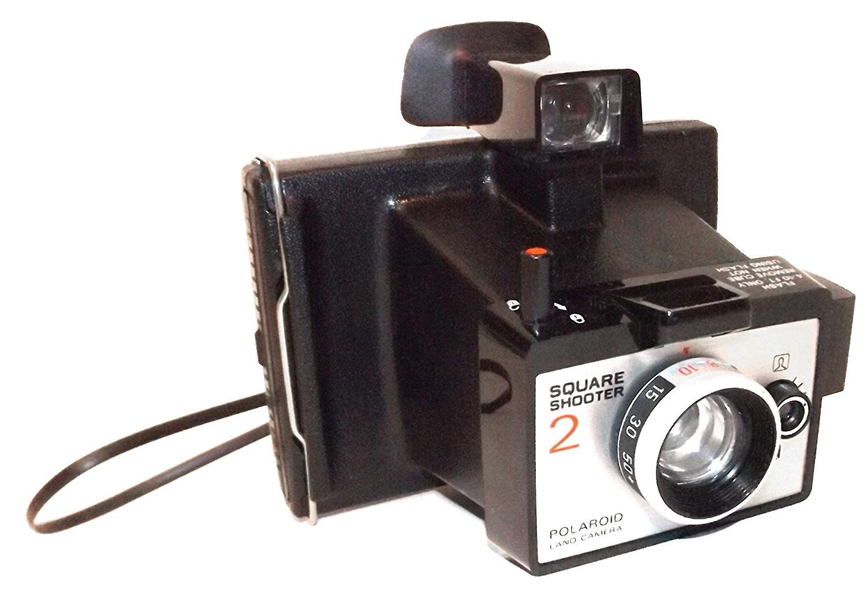 Retro Vintage Polaroid Square Shooter 2 Instant Film Land Camera