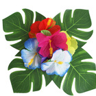 Event Decoration Assorted Flower Simulation Leaves Lei Hawaiian Island Rainforest Theme Birthday Party Favors Wholesale