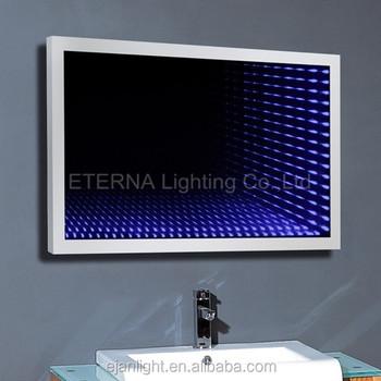 3D Bathroom Fancy LED Infinity Mirror