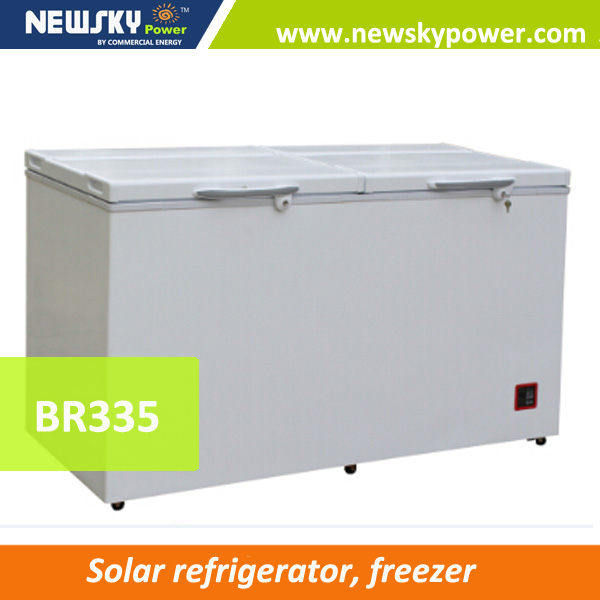 Durable Solar Refrigerator and Freezer with Low Price dc solar freezer