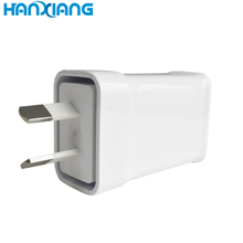 Super cepat ponsel charger 5 V 2.1A plug Australia <span class=keywords><strong>desktop</strong></span> usb wall charger
