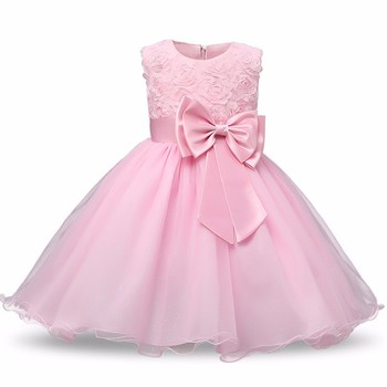 256dcc2f58 Princess Flower Girl Dress Summer 2017 Tutu Wedding Birthday Party Dresses  For Girls Children s Costume Teenager