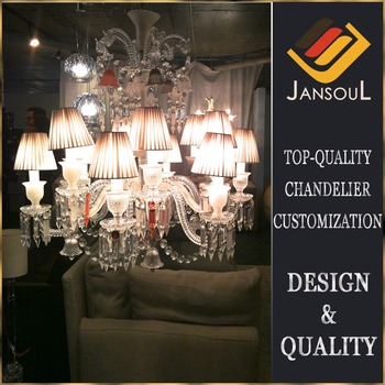 12 Lights Cheap Made In China Baccarat Style Crystal Chandelier ...