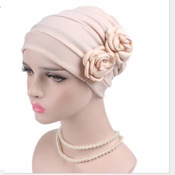 Ladies Bandana Band Hat Cap Hijab Headwear Wrap Hair Loss Chemo Headwrap  Turban 73755b716a2