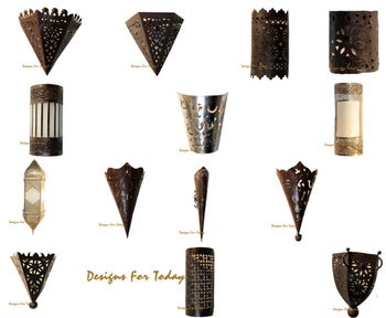 Superior Moroccan Metal Wall Sconces