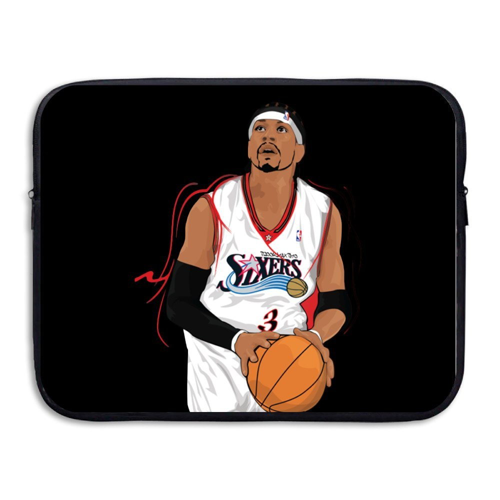 12924bc8820b Get Quotations · KathyB Allen Iverson The Answer Messenger Bag Black