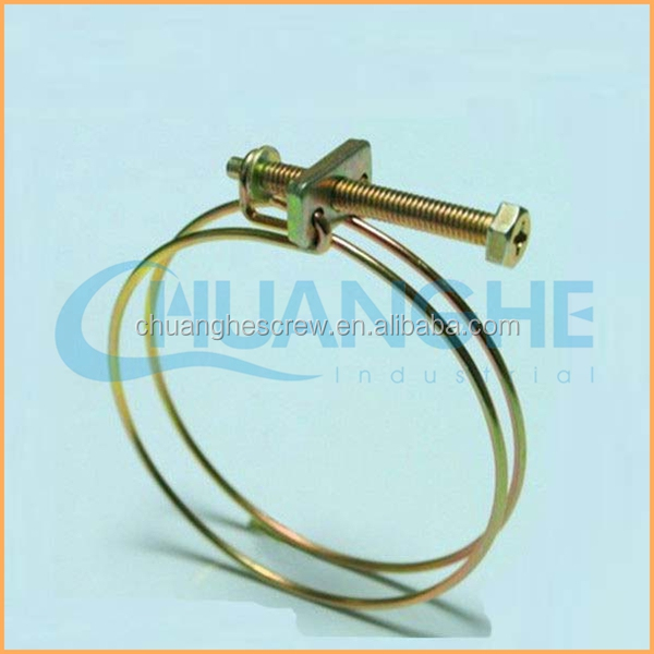 Ss Double Wire Hose Clamp, Ss Double Wire Hose Clamp Suppliers and ...
