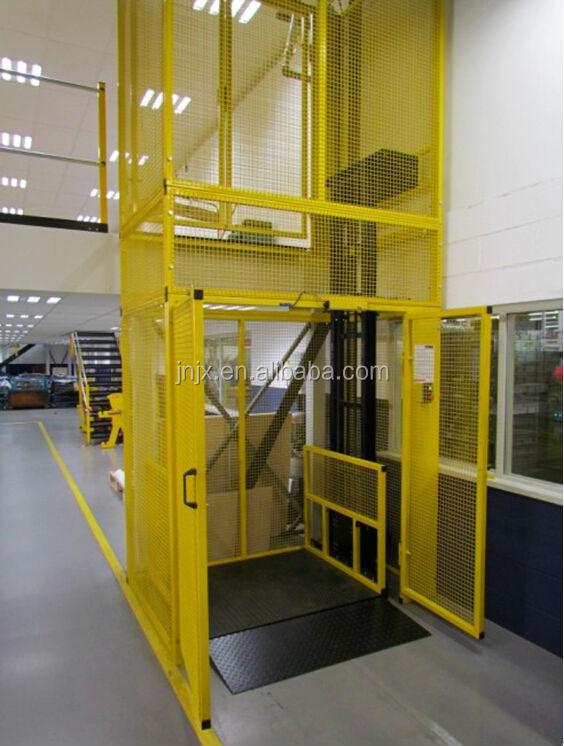 Montacarichi elettrico prezzo, pallet ascensore idraulico guard rail-Ascensore-Id prodotto ...