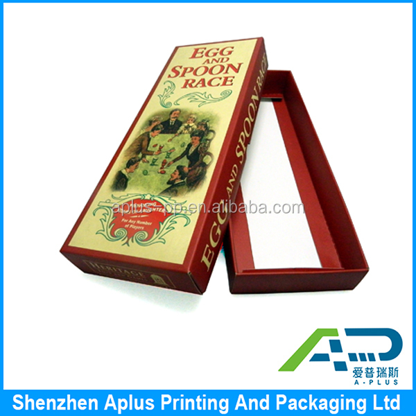 OEM embossing paper printing packaging box , customized packaging box, gift box with lid
